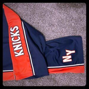 NIKE Knicks 1978 retro warmup pants EUC